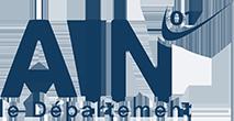 Logo departement ain - la maison des hébergeurs ain